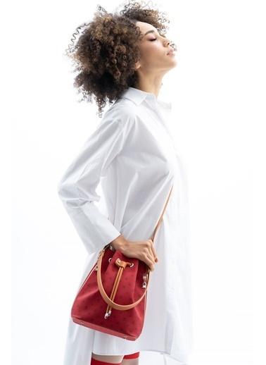 Benetton Messenger / Askılı Çanta Kırmızı